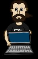 Comic Characters Laptop