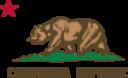 Flag Of California Bear Star Plot Title