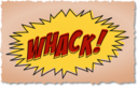 Whack Comic Book Sound Effect