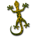 download Gecko 4 clipart image with 315 hue color