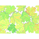 download Fall Leaves clipart image with 45 hue color