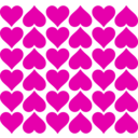 download Heart Tiles clipart image with 315 hue color