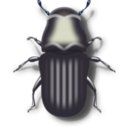 download Pine Beetle clipart image with 225 hue color