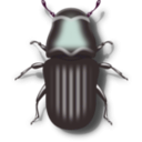 download Pine Beetle clipart image with 315 hue color