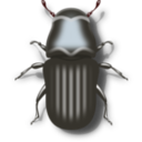 download Pine Beetle clipart image with 0 hue color