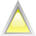 Led Triangular Yellow