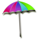 download Umbrella clipart image with 45 hue color