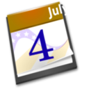 download 4th July Calendar clipart image with 45 hue color