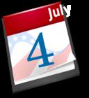 4th July Calendar