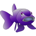 download Brown Fish clipart image with 225 hue color