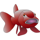 download Brown Fish clipart image with 315 hue color