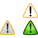 download Warning2 clipart image with 45 hue color