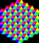 Hexagonal Triangle Tessellation