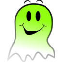 download Ghost Smiley clipart image with 45 hue color
