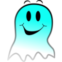 download Ghost Smiley clipart image with 135 hue color