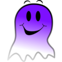 download Ghost Smiley clipart image with 225 hue color