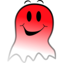 download Ghost Smiley clipart image with 315 hue color