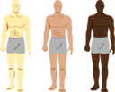 Siluetas Personajes Masculinos