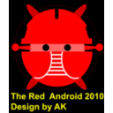 Android Red Android Robot Bujung