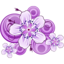 download Flowers Of Blackthorn clipart image with 225 hue color