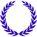 download Laurel Wreath clipart image with 135 hue color