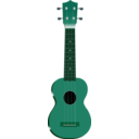 download Ukulele clipart image with 135 hue color
