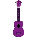 download Ukulele clipart image with 270 hue color
