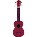 download Ukulele clipart image with 315 hue color