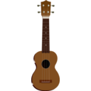 download Ukulele clipart image with 0 hue color