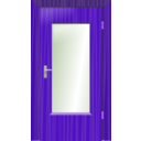 download Door clipart image with 225 hue color
