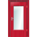 download Door clipart image with 315 hue color