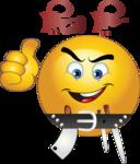 Butcher Bo7a Smiley Emoticons