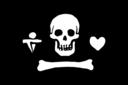 Pirate Flag Stede Bonnet