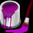 Color Bucket Purple