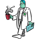 download Doctor clipart image with 135 hue color