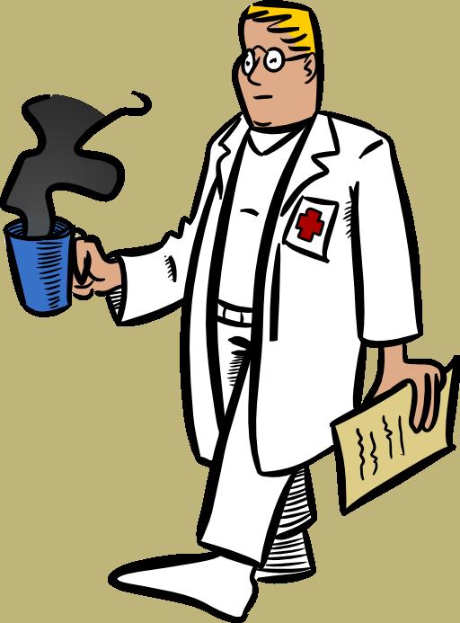 Doctor clipart i2clipart royalty free public domain for Credence en verre transparent cuisine