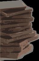 Chocolate Block Pieces Tracing