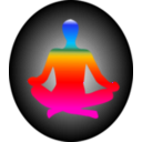download Chakra Meditation clipart image with 315 hue color