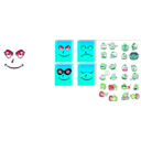 download Book Emoticon clipart image with 135 hue color