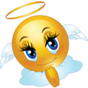 Angel Female Smiley Emoticon