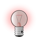 download Light Bulb clipart image with 315 hue color