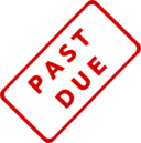 Past Due Business Stamp 1