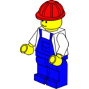 Lego Town Worker