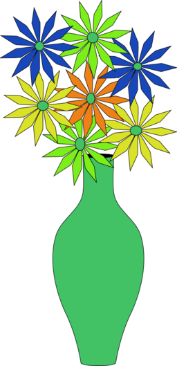 Vase Of Flowers Clipart I2clipart Royalty Free Public Domain Clipart