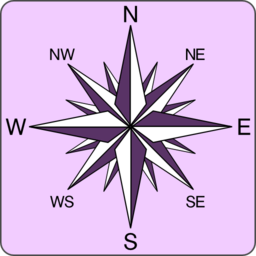 Wind Rose Icon Clipart I2clipart Royalty Free Public Domain Clipart
