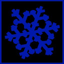 Color Wheel Of Eco Green Snow Icon Clipart