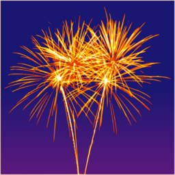 Color Wheel Of Firework Clipart