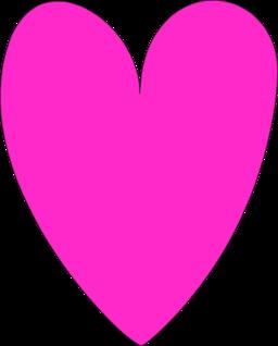 Cute heart clipart pink red transparent - BigClipart.com