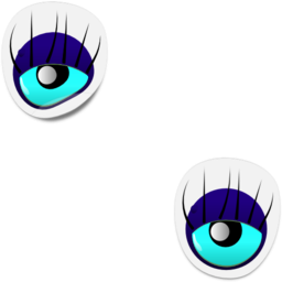 Monster Eye Sticker 1 Clipart I2clipart Royalty Free Public Domain Clipart
