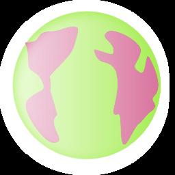 Color Wheel Of Earth Small Icon Clipart